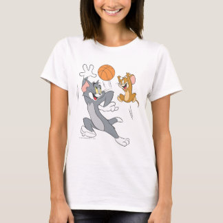 Camiseta Basquetebol 1 de Tom e de Jerry
