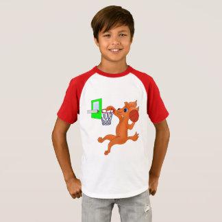 Camiseta Basquetebol feliz pelos Feliz Juul Empresa