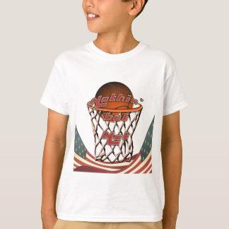 Camiseta Basquetebol nada mas da rede na aro
