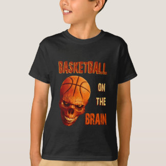 Camiseta Basquetebol no cérebro