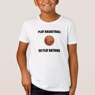 Camiseta Basquetebol ou nada do jogo