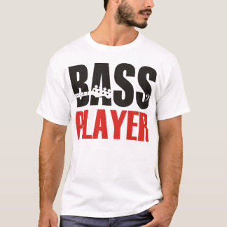 Camiseta Bass Player