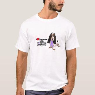 Camiseta Basset - consciência de Hodgkins