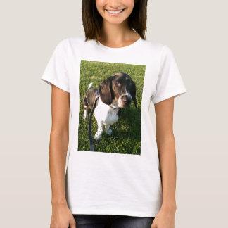 Camiseta Basset Hound adorável Snoopy