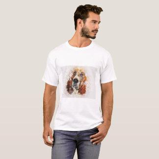 Camiseta Basset Hound - aqueles olhos!