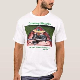 Camiseta Basset Hound em um t-shirt do lago (21:28 de Luke)