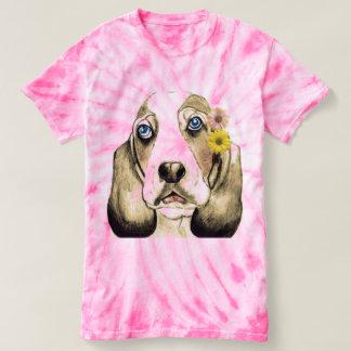 Camiseta Basset Hound pela canção de natal Zeock