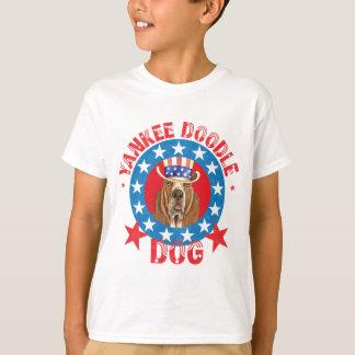 Camiseta Basset patriótico