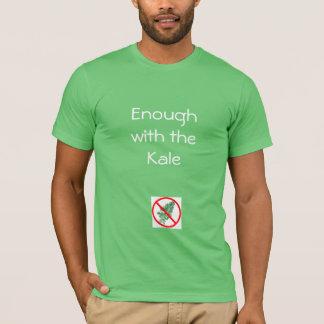 Camiseta Bastante com a couve