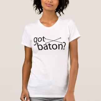 Camiseta bastão obtido?
