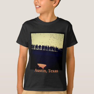 Camiseta Bastões da ponte da avenida do congresso