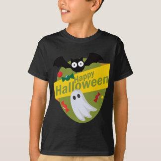 Camiseta Bastões e fantasmas felizes do Dia das Bruxas