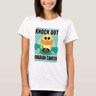 Camiseta Bata para fora o câncer de ovário