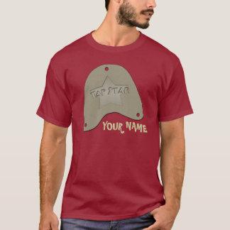 Camiseta Bata presentes & t-shirt personalizados estrela