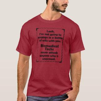 Camiseta Batalha da tecnologia do Biomedical das