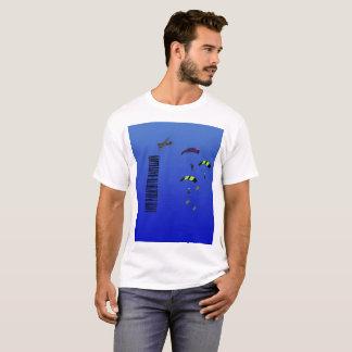 Camiseta Batalhão do pára-quedas do t-shirt do homem 10o