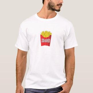 Camiseta batatas fritas de idaho