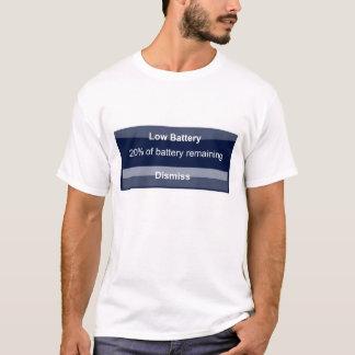 Camiseta Bateria de Iphone baixa
