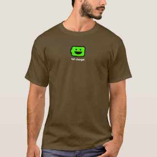 Camiseta Bateria feliz do Android