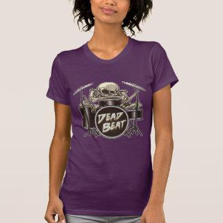 Camiseta Baterista de esqueleto engraçado