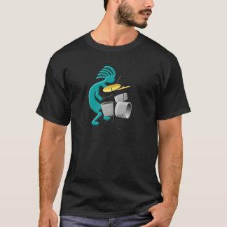 Camiseta Baterista de Kokopelli