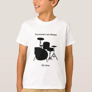 Camiseta Bateristas sempre no tempo
