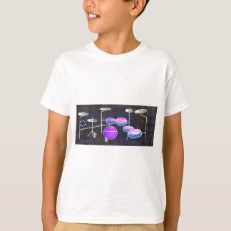 Camiseta Batida do cilindro