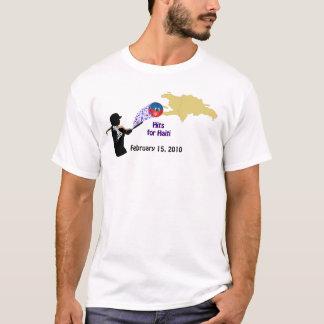 Camiseta Batidas para Haiti