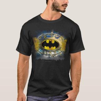 Camiseta Batman decorou o logotipo