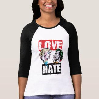 Camiseta Batman | Harley Quinn & amor do palhaço/ódio