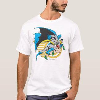 Camiseta Batman & perfil do pisco de peito vermelho