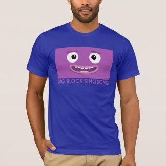 Camiseta BBSS aqui nós vamos o t-shirt dos homens