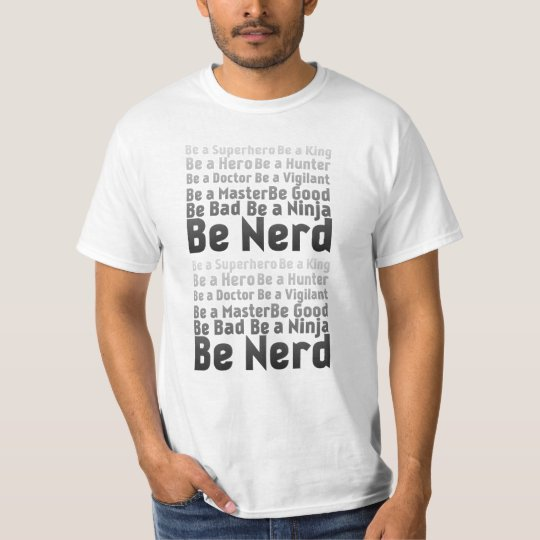 Camiseta Be Nerd