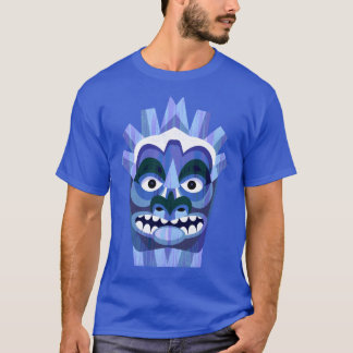 Camiseta Beachcomber tribal azul de Tiki