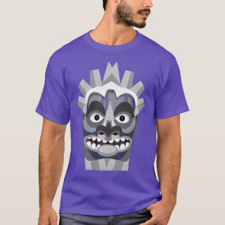 Camiseta Beachcomber tribal roxo de Tiki