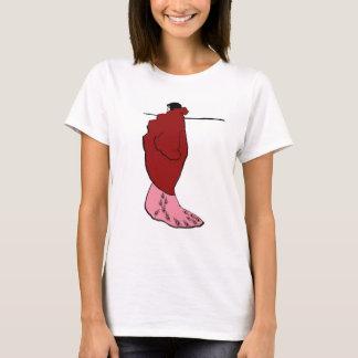 Camiseta Beardsley - mulher no toalete