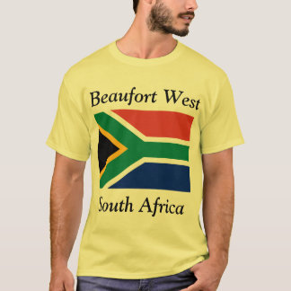 Camiseta Beaufort ocidental, cabo ocidental, África do Sul