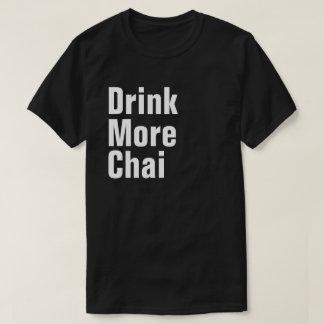 Camiseta Beba mais Chai