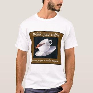Camiseta Beba seu café