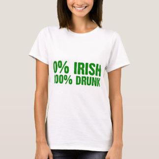 Camiseta Bebado de 100%