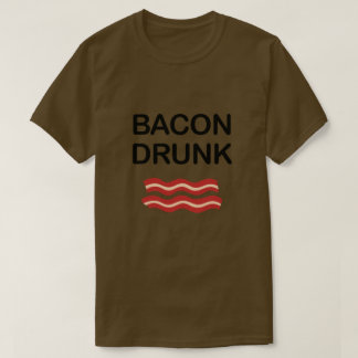 CAMISETA BEBADO DO BACON