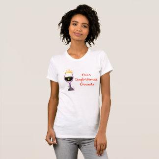 Camiseta Bebados infelizes pobres (lite)