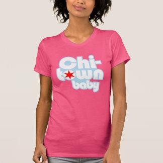 Camiseta bebê da Qui-cidade, Chicago, Illinois