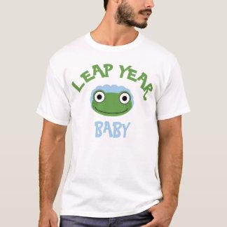 Camiseta Bebê do ano de pulo