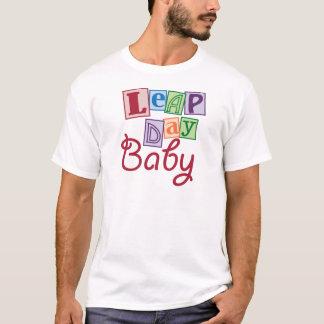 Camiseta Bebê do dia de pulo