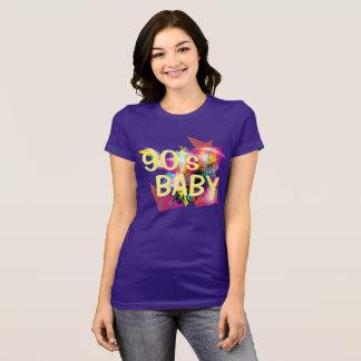Camiseta Bebê dos anos noventa