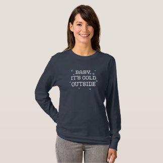 Camiseta Bebê, é parte externa fria