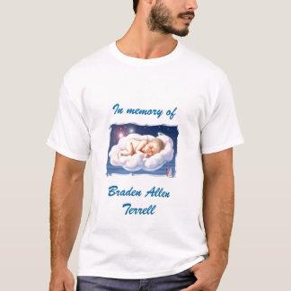 Camiseta bebê, na memória de, Braden AllenTerrell
