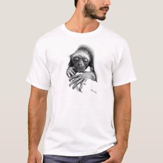 Camiseta Bebê sonolento do Gibbon