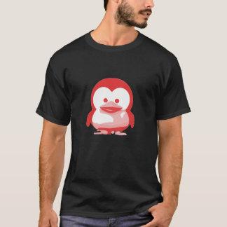 Camiseta Bebê Tux de Linux: Edição vermelha